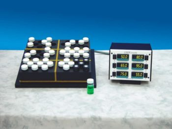 Multi-temperature Zoned Reaction Blocks