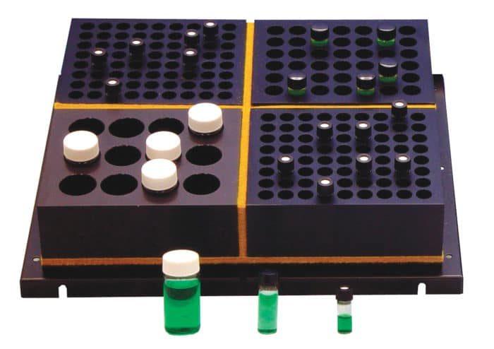 Multi-temperature Zoned Reaction Blocks
