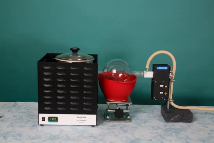About J-kem's Kugelrohr Short Path Distillation System