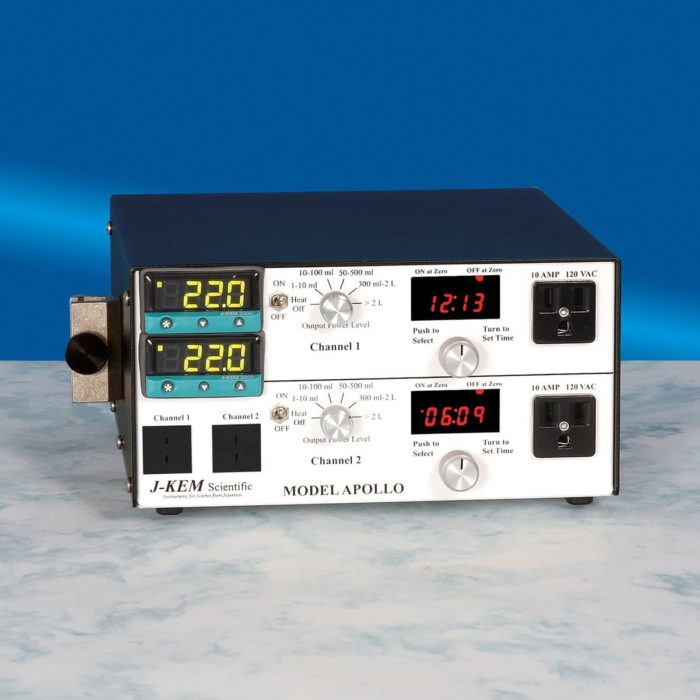 Apollo Multi-Channel Precision Temperature Controller from J-KEM