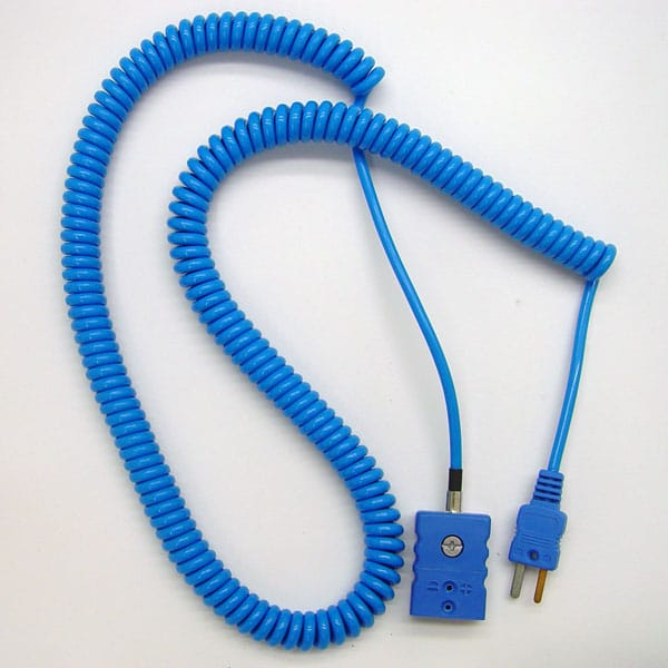 Thermocouple Extension Cord (Coiled)
