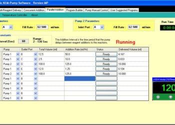 KEM-Pump Software