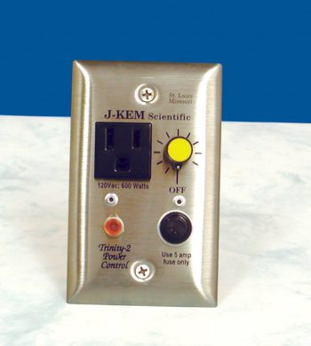 Trinity Power Controller made for Trinity University by J-KEM Scientific